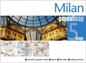 Universal Map 10069 Milan Popout Map