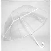Elite Rain Frankford RF01-WH Premium Fibreglass Bubble Umbrella White Trim