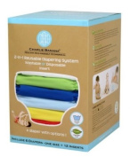 Winc Design Limited 889182 6 Nappies 12 Inserts Set Boy Large