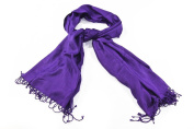 Bewitched Accessories Pashmina Style Scarf In Purple
