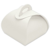Deluxe Small Business Sales 65-STT-WH 1.25 x 3.8cm x 3.8cm . Single Truffle Totes White
