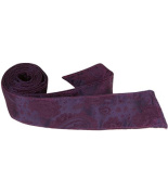 Matching Tie Guy 4029 L6 HT - 110cm . Child Matching Hair Tie - Purple Paisley