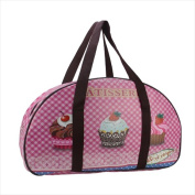NorthLight 50cm . Decorative French-Style Patisserie And Cupcake Theme Travel Bag & Purse