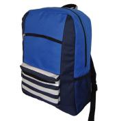 Harvest LM202 Navy 600D Poly Backpack 18 x 33cm x 14cm .