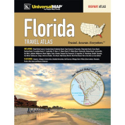 Universal Map 11364 Florida State Travel Atlas
