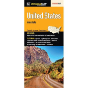 Universal Map 15028 United States Interstate Fold Map