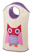 Whitmor 6241-5810-OWL Kids Canvas Hamper Tote - Owl