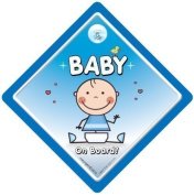 Baby On Board Car Sign, Baby on Board Car Sign, Blue Baby, Baby Car Sign, Bumper Sticker, Decal, Grandchild On Board, Child On Board, Baby Boy On Board, Bumper sticker, Baby Car Sign, Decal