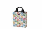 Joann Marie Designs P2SSFDL2 Poly Small Shopper - Crème Fleur De Lis Pack of 6