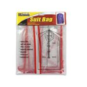 Bulk Buys GG030-12 35 x 23 1/2 Orange Plastic Suit Bag - Case of 12
