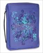 Divinity Boutique 133423 Bible Cover Basic Gem Embellished Faith Extra Large