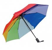 Frankford Umbrellas RM01-RB Mini Triple fold Umbrella - Rainbow