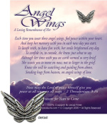 KBC Products 4050 Angel Wings - A Loving Remembrance for a Female