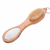 SEEKO Foot Brush and Pumice Stone Scrub Brush Pedicure Tool