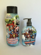 Avengers 2 in 1 Shampoo Conditioner and Hand Soap Set