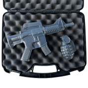 AR15 and Grenade Soap Gift Set - Includes Case