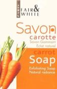 Paris Fair & White Savon Gommant Eclat Naturel Carrot Soap