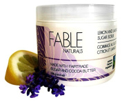 Fable Naturals All Natural Sugar Scrub, Lemon/Lavender, 130ml