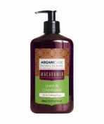 Arganicare Macadamia Leave in conditioner for dry and damaged hair 400ml