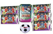Match Attax EPL 15/16 Trading Card Collector Tin + 50 EXTRA cards. 100 Cards in Total