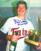 Real Deal Memorabilia FViola8x10-2 Frank Viola Autographed Minnesota Twins 8x10 Photo - 1987 World Series MVP Inscription