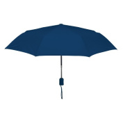Peerless 2361-Navy Vented Executive Mini Umbrella Navy