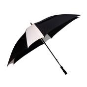 Peerless 2418ASV-Black-White The Cyclone Umbrella Black And White