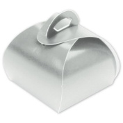Deluxe Small Business Sales 65-STT-PL 1.25 x 3.8cm x 3.8cm . Single Truffle Totes Silver