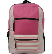 Harvest LM202 Pink 600D Poly Backpack 18 x 33cm x 14cm .