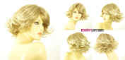 univers perruque Short Wig For Women Clear Light Blond Blond Wick Ref Mariam 15t613