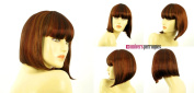 univers perruque Short Wig For Women Brown Copper Wick Light Blond And Red Ref