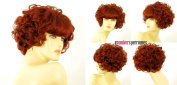 univers perruque Short Wig For Women Curly Intense Coppery Ref