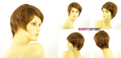 univers perruque Short Wig Woman Smooth Brown Copper Wick Light Blond Ref Alicia 6bt27b