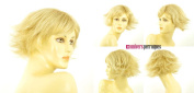 univers perruque Short Wig Woman Golden Blond Wick Very Light Blond Ref
