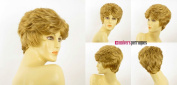univers perruque Short Wig For Women Golden Blond Ref Val 24b