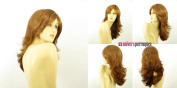 univers perruque Length Wig For Women Dark Blond Copper Ref