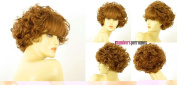 univers perruque Short Wig For Women Curly Blond Copper Ref Eleonore 27