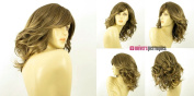 univers perruque Mid Length Wig For Women Curly Brown Mid Wick Golden Ref Charlotte 6t24b