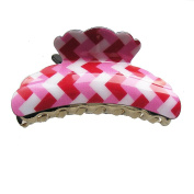 Hair Accessory - Square Pattern Hair Jaw Claw Clip