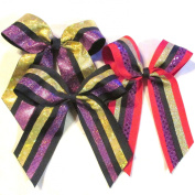 Large Bow with Shatter, (Stiff) Batch M4, pkg of 3, Made in the USA