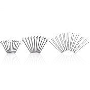 hiLISS 300pcs Bobby Pins Grips U Shape Hair Clips Stylist Barrette New