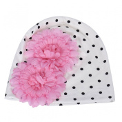 Datework Baby Girl's Flower Hats Baby Hats Hat Winter Autumn