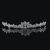 FAJ Elegant Bridal Wedding Prom Rhinestone Austrian Crystal Tiara -  .  d - Great Quality by FAJ
