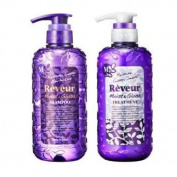 Reveur Non Silicon Moist & Gloss Shampoo & Conditioner 500ml Set