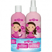 Circle of Friends Rosas Raspberry Shampoo + Detangler 300ml DUO