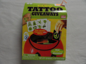 20 Glow Tattoo Giveaways - 20 Boxes of 4 Tattoos Each