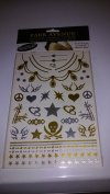 (Pack of 6) Park Avenue Metallic Jewellery Tattoos Hottest Fashion