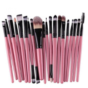 ABC® 20pcs/set Makeup Brush Set tools Make-up Toiletry Kit Wool Make Up Brush Set