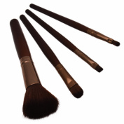 Malloom Cosmetic Makeup Brush Set 4pcs