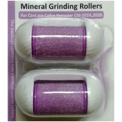 Replacement Rollers for Care me Rechargeable Callus Remover (Model# CM202) - Effectively Removes Hard and Cracked Skin and Calluses on Feet - a Pack of 2